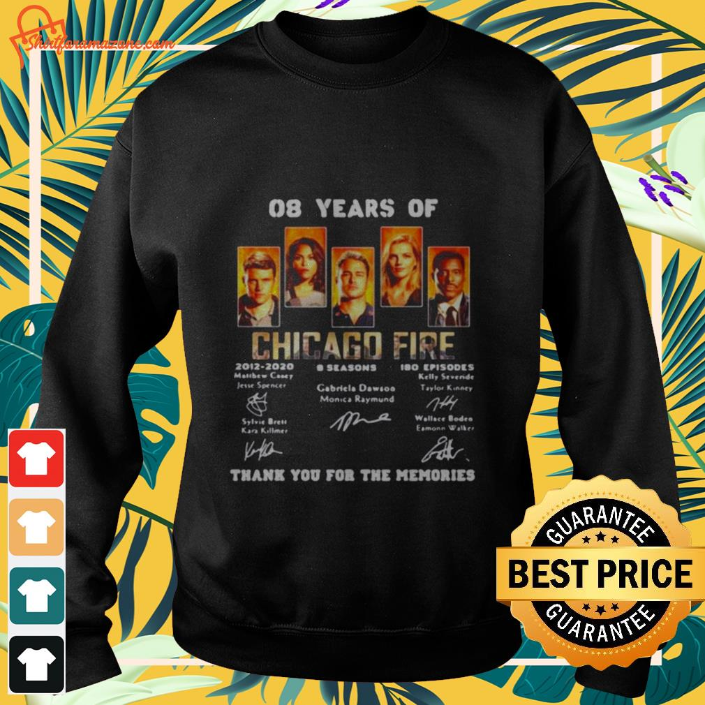 08 years of chicago fire signature Sweater