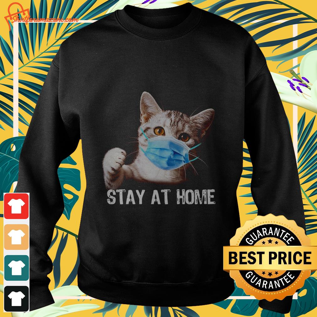 cat stay at home Sweater