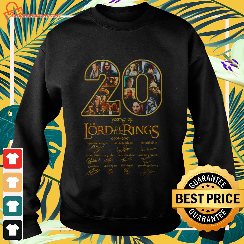 20 years The Lord of the rings sweater