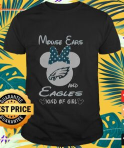 Mouse Ears and Eagles kind of girl shirt