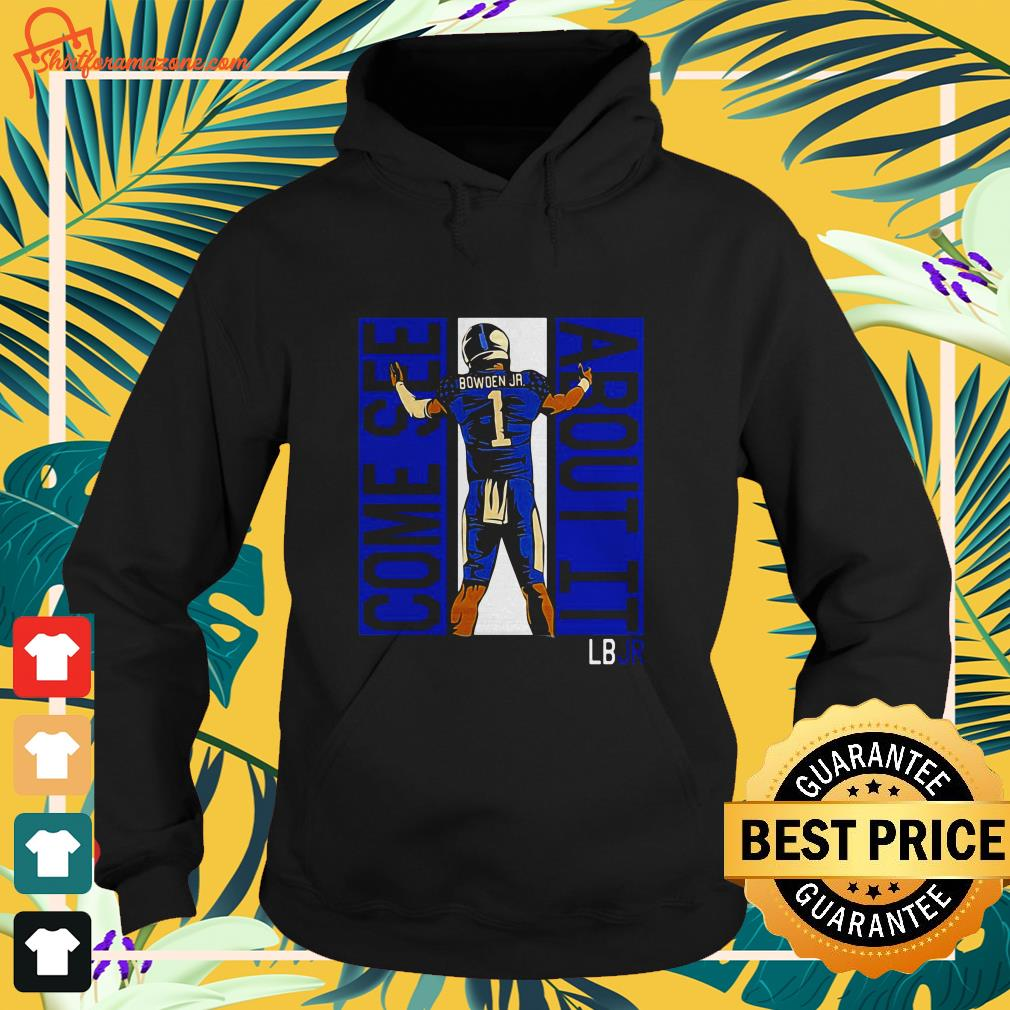 lynn bowden jr kentucky wildcats come see about it hoodie