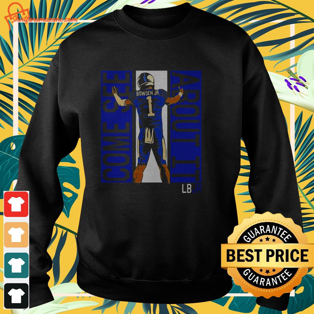 lynn bowden jr kentucky wildcats come see about it sweater