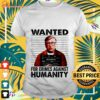 wanted for crimes against humanity bill gate T shirt