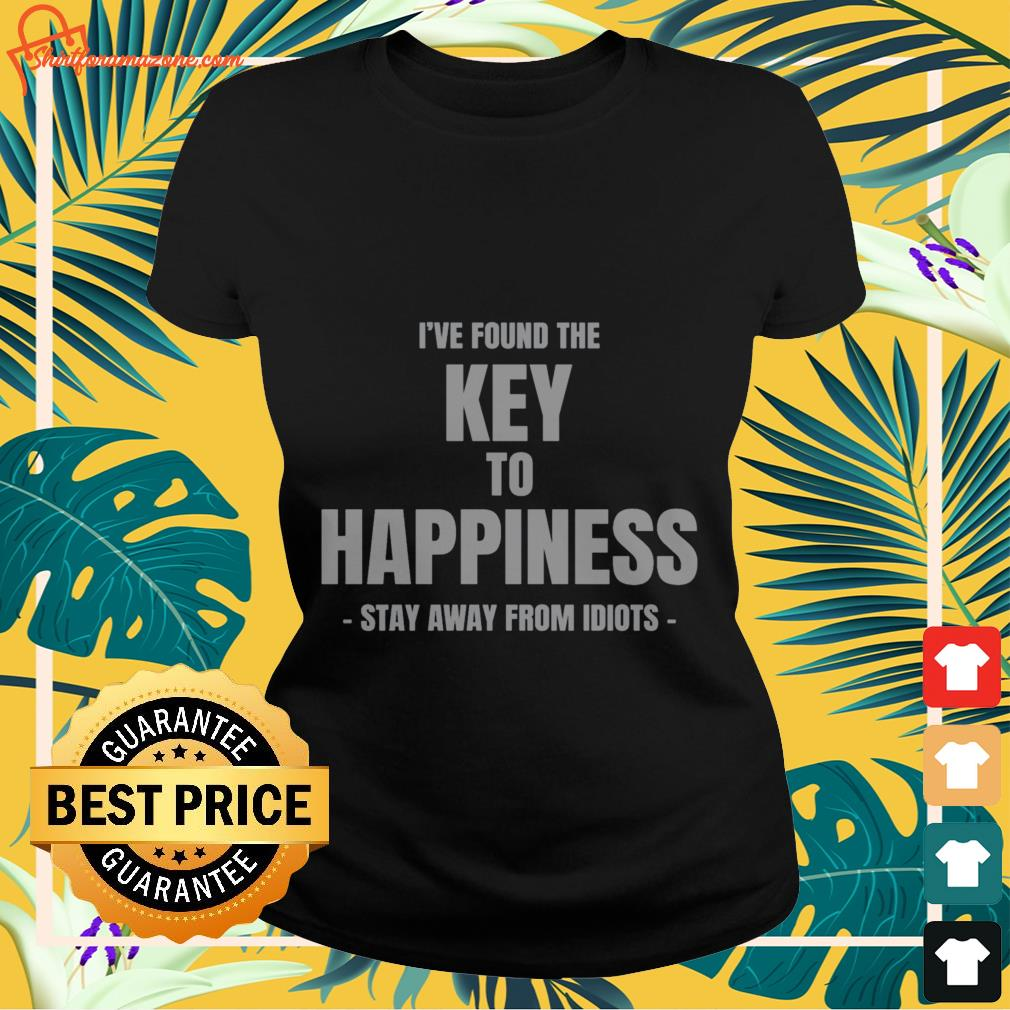 I've found the key to happiness Ladies-tee
