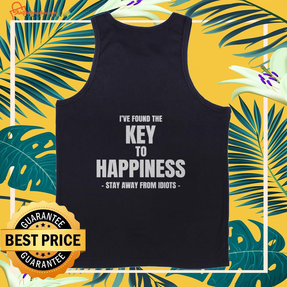 I've found the key to happiness Tank-top