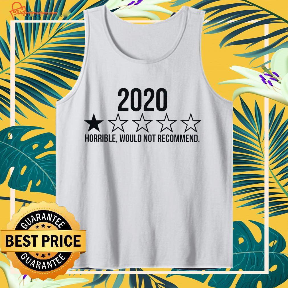 2020 horrible would not recommend Tank-top
