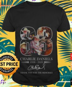 83 Charlie Daniels 1936 2020 thank you for the memories shirt