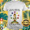 Girl yoga the path of inner peace begins with four words not my fucking problem shirt
