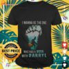 Bigfoot I wanna be the one who has a beer with darryl shirt