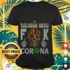 The Walking Dead fuck Corona skull shirt