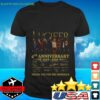 Lucifer 4th anniversary 2016 2020 thank You for the memories signatures t-shirt