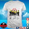 Rammstein Simpsons Style signatures t-shirt