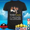 Schitt's Creek TV series 05th Anniversary 2015-2020 06 seasons signature t-shirt