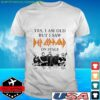 Yes I Am Old But I Saw Def Zeppelin Signatures t-shirt