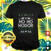Game of Thrones Ho Ho Hodor Coming Ugly t-shirt