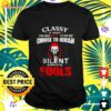 Halloween Classy is when you have a lot to say but choose to remain silent t-shirt