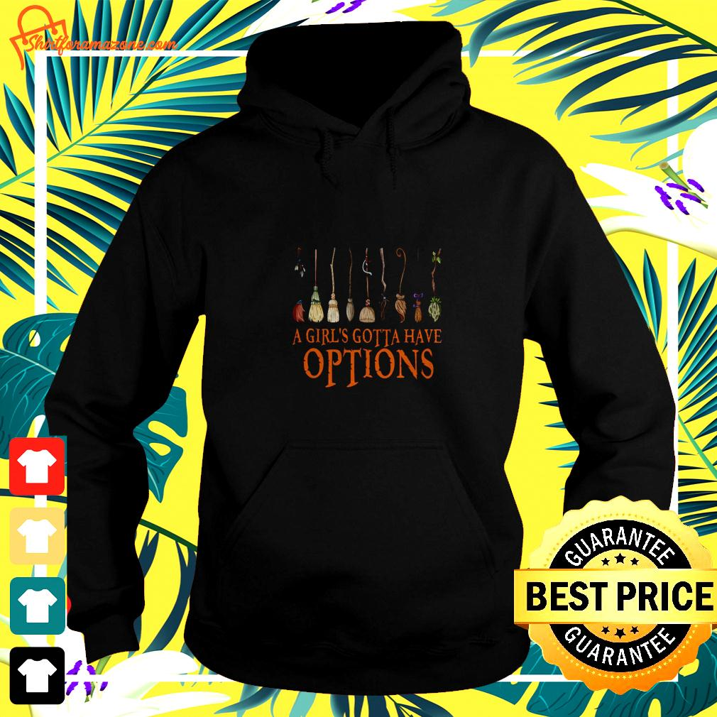 Harry Potter a girl's gotta have options hoodie