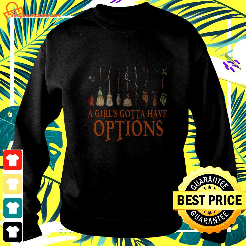 Harry Potter a girl's gotta have options sweater