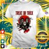 Horror Characters moon treat or trick halloween t-shirt