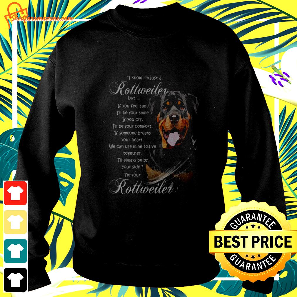 I know I'm just a Rottweiler dog sweater