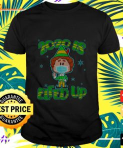 2020 is Elfed up ELF mask christmas t-shirt