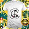 Hippie floral every little thing is gonna be alright t-shirt