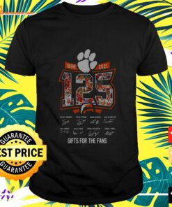 125 years of 1896-2021 gifts for the fans signatures t-shirt