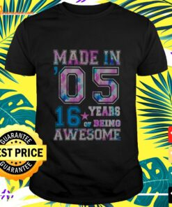 16 Year Old Girl Gifts For 16th Birthday Gift Bor t-shirt