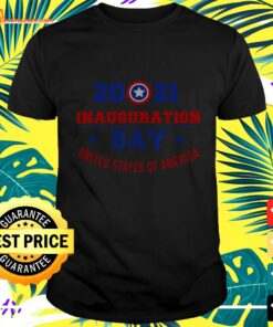 2021 Inauguration day United States of America t-shirt
