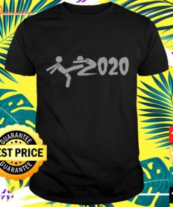 Goodbye 2020 Kick 2020 And Welcome New Year 2021 t-shirt