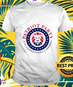 Maga Lion Patriot party of the united states of America t-shirt