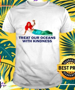 Harry Styles Mermaid Treat our oceans with kindness t-shirt