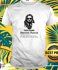 Bearded Funcle definition the most superior breed of uncle t-shirt
