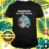 Doge Mission To The Moon Dogecoin Hodl Funny Doge Crypto t-shirt