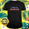 Men's law and mordor t-shirt