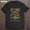 Ice Cube 35th anniversary 1986 2021 thank you for the memories shirt