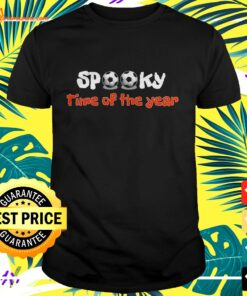 Spooky Time Of The Soccer Year shirt