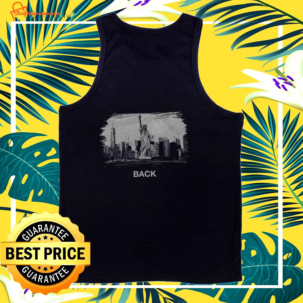 Statue of Liberty National Monument NYC back  tank top