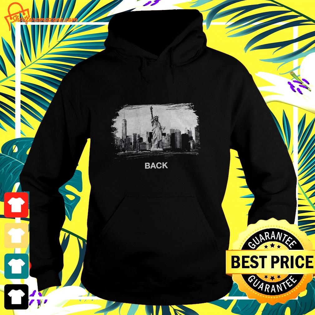 Statue of Liberty National Monument NYC back hoodie