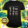 The Peanuts the best things in life are free hugs smiles friends kisses family sleep love laughter good memories t-shirt