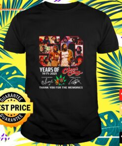 50 Years of 1971-2021 Cheech and Chong thank you for the memories signature shirt