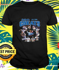 Los Angeles Dodgers Baseball team all time greats signature shirt