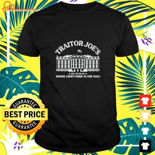 Traitor Joe's where everything is for sale shirt, sweater