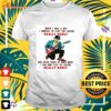 When I was a kid I wanted to play the guitar really badly shirt