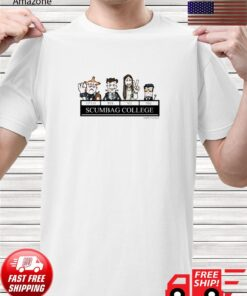 Young Ones Scumbag College by HappyToast shirt